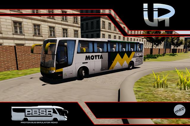 Skin Proton Bus Simulator Road - Vissta Buss LO O-500 RS Viação Motta