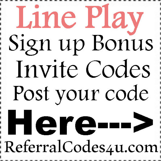 Line play invitation codes 2016 line play app referral code invite line play invitation codes 2016 stopboris Gallery