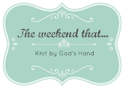 Image result for knit by gods hand the weekend