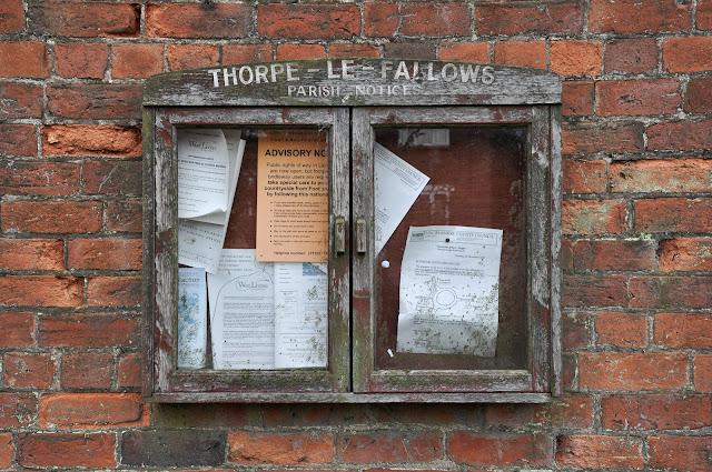 Thorpe-le-Fallows memorial
