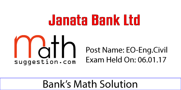 Math Solution JBL EO Engineer Civil 2017