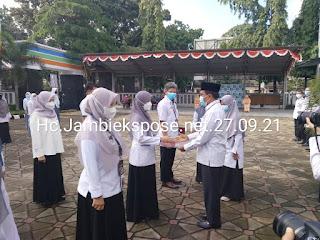 Kepala BPS Provinsi Jambi Irup Peringati HUT Hari Statistik Nasional.