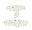 カタカナのペンキ文字「エ」