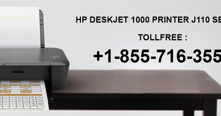 How to install HP Deskjet 1000 printer j110 series?