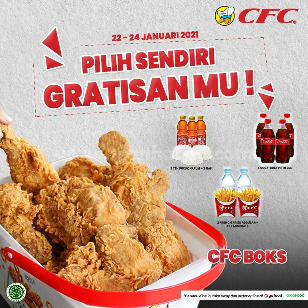CFC Promo CFC BOKS PILIH SENDIRI GRATISANMU*