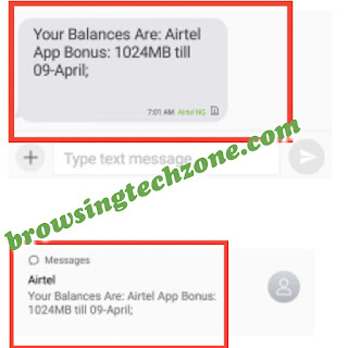 Airtel free 1gb data