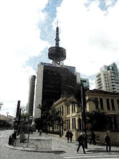 Prédio do Itaú Cultural, em São Paulo