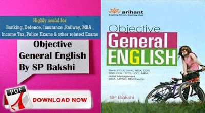 Arihant Objective General English PDF By S.P. Bakshi