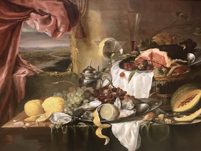 AGNSW Laurens Craen 'Still life with imaginary view, c1645-50'