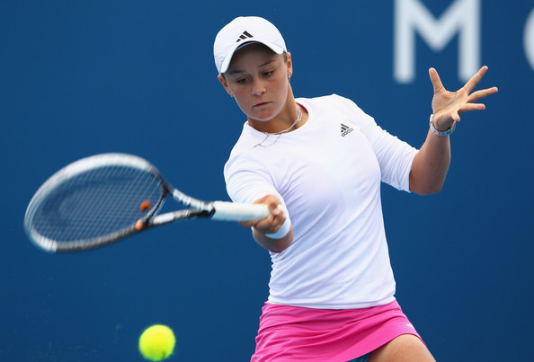 Ashleigh Barty Young Female Tennis Player 2012 | All ...