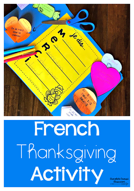 thanksgiving in the french as a second language fsl classroom