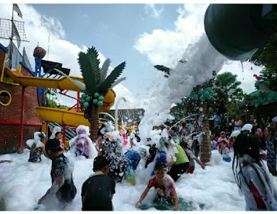 Wahana wisata air  di Yogyakarta