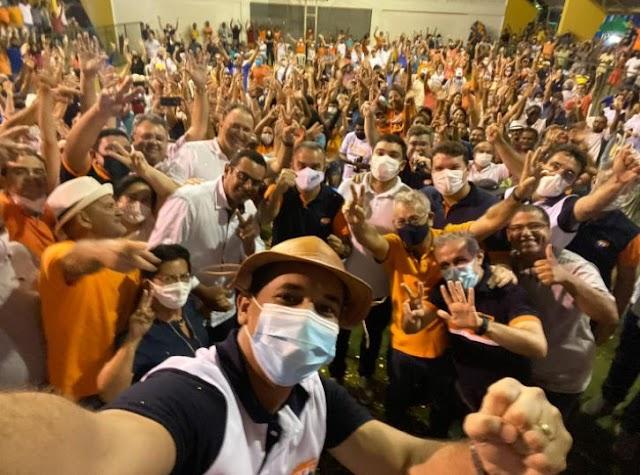 Solidariedade homologa chapa chapa Gustavo e Junior para eleições de 7 de novembro em Guamaré