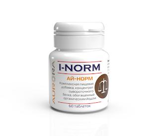 Нехватка йода в организме - Ай-Норм (i-Norm)