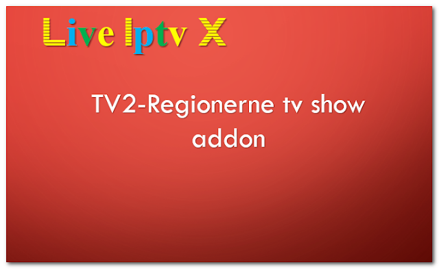 TV2-Regionerne tv show addon