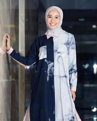 Laudya Chintya Bella model hijab tabrak warna