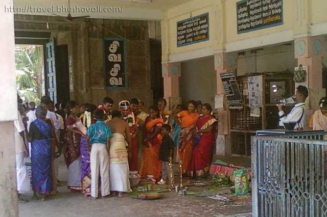 Wedding in South Indian Temple
