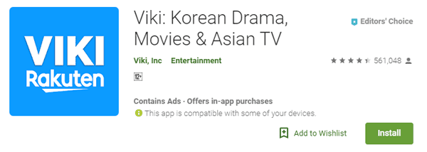 aplikasi streaming online drama korea terbaik 2019