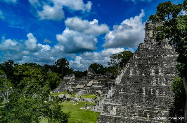 Cidade Maia de Tikal, Guatemala