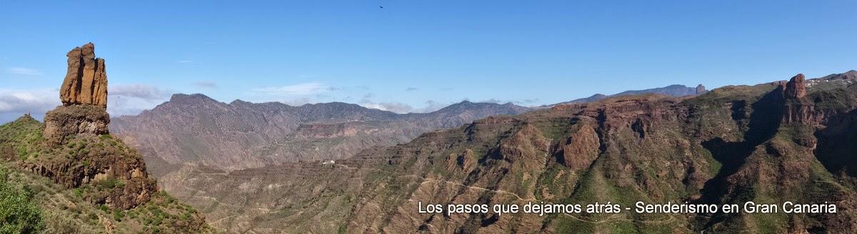 Roques del Cofre, Altavista, Palmés, Bentayga y Nublo