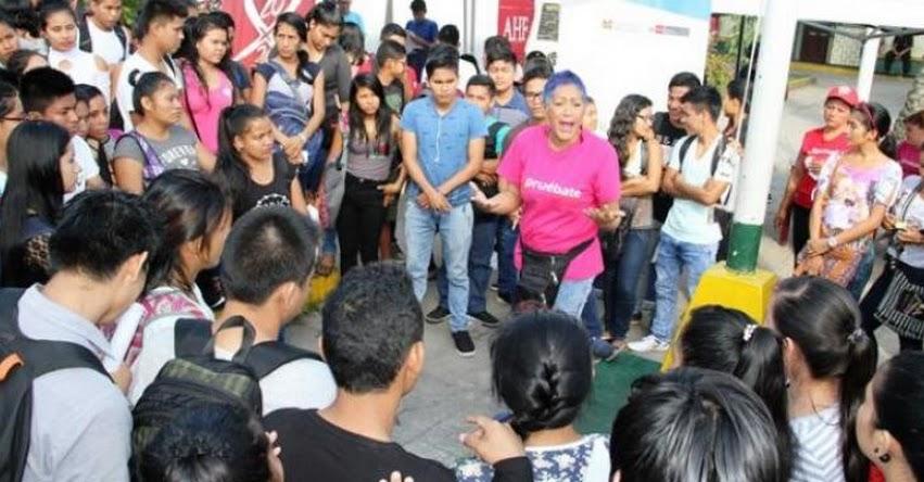 PRONABEC: Becarios son orientados sobre enfermedades de transmisión sexual en Loreto - www.pronabec.gob.pe