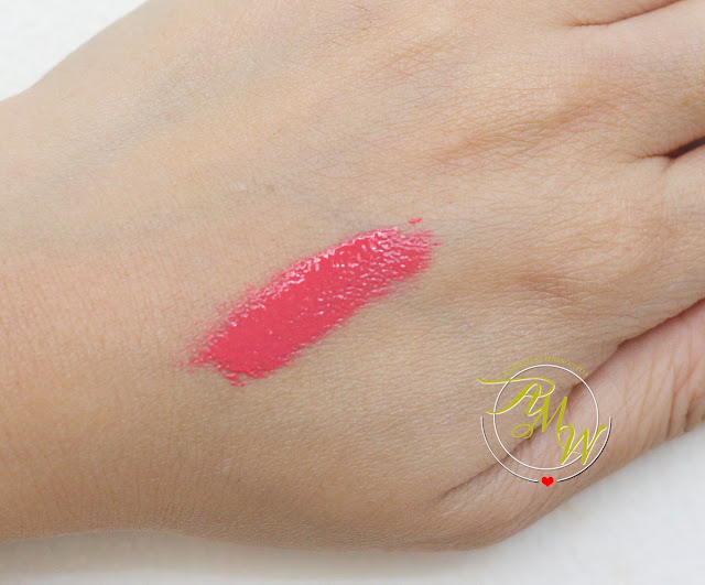 a swatch photo of NYX Intense Butter Lipgloss in Napoleon