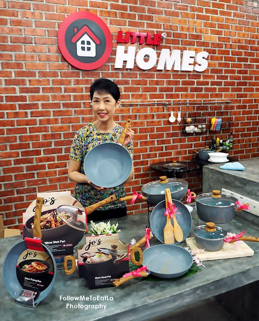BEST COOKWARE FROM LITTLE HOMES JO'S MARBLE COOKWARE