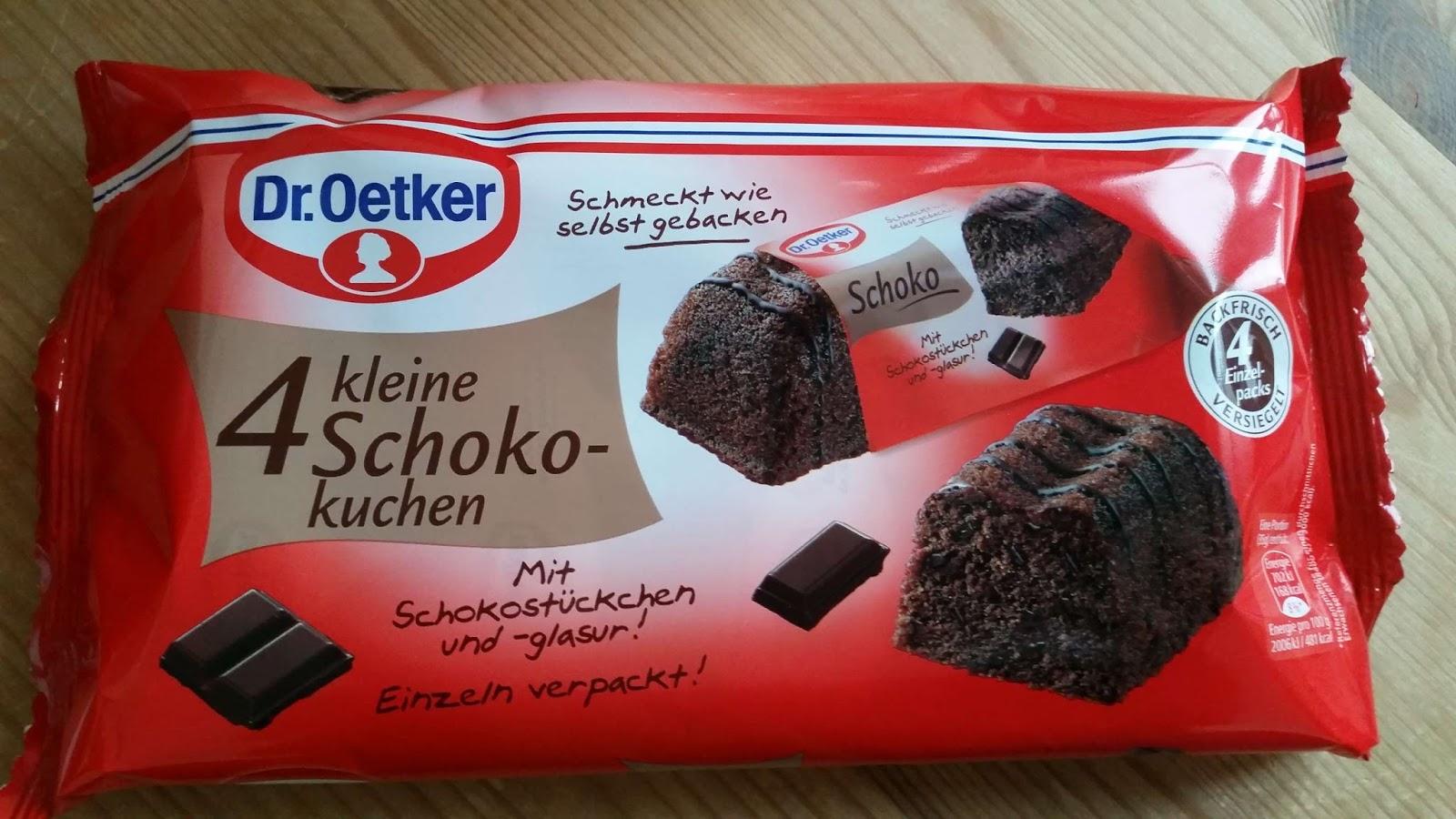 Dr Oetker 4 Kleine Schokokuchen Suffis Welt