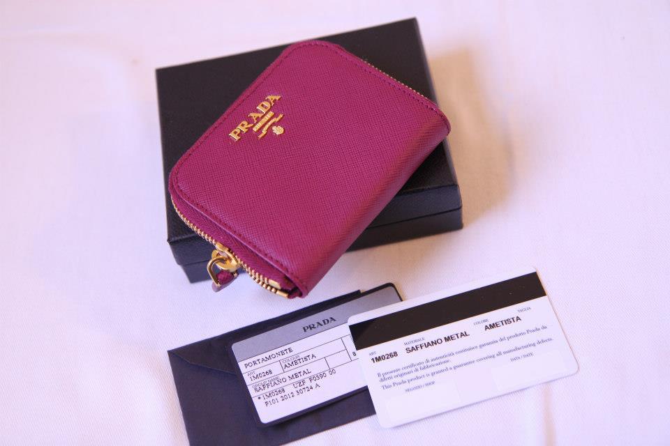 e46369794d6d5e ... cheap prada saffiano leather compact purse 1m0268 41005 4fe76