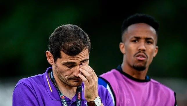 Porto president confirms Casillas' retirement from football