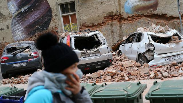 Землетрясение в Хорватии! Прежде чем жаловаться, что нечем заняться дома, подумайте: есть люди, которые в период пандемии остались без дома!