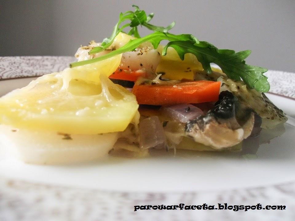 sałatka warzywna z parowaru