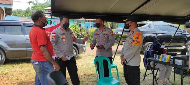 Polresta Jayapura Kota Gelar Vaksin Presisi di Dok IV Bhayangkara