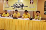 MEP Calon Bupati Partai Golkar, JJT Didaulat Ketua DPRD Minsel