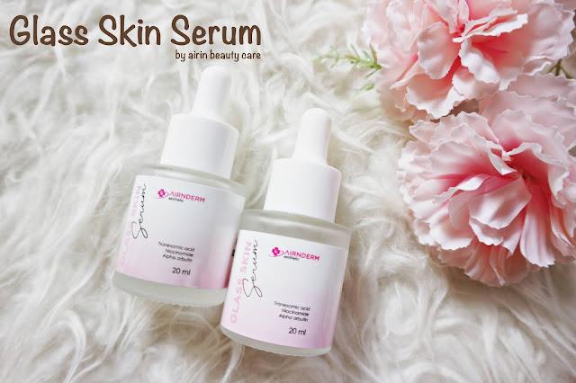 Review Airnderm Glass SKin Serum