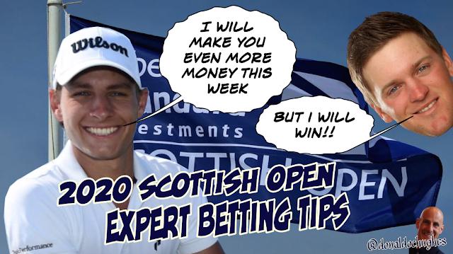 Scottish Open Golf Betting Tips