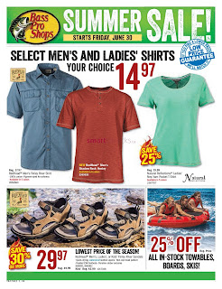Bass pro shops flyer canada valid June 30 to July 16, 2017