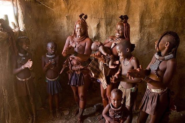 عجائب قبيلة الهيمبا القاتلة