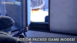 Download Game Critical Ops MOD APK+OBB 0.9.1.f133 Ammo