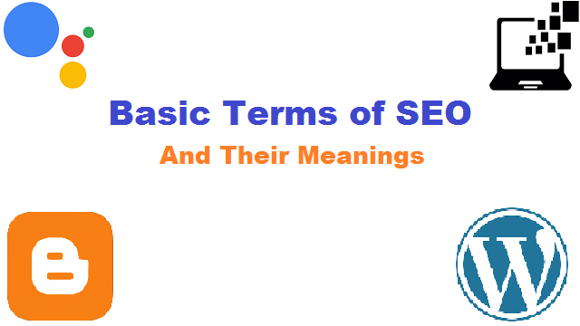 Basic Terms of SEO and Their Meanings