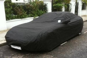 Ferrari Custom Outdoor Car Cover with Numberplate Windows and Parking Permit Window