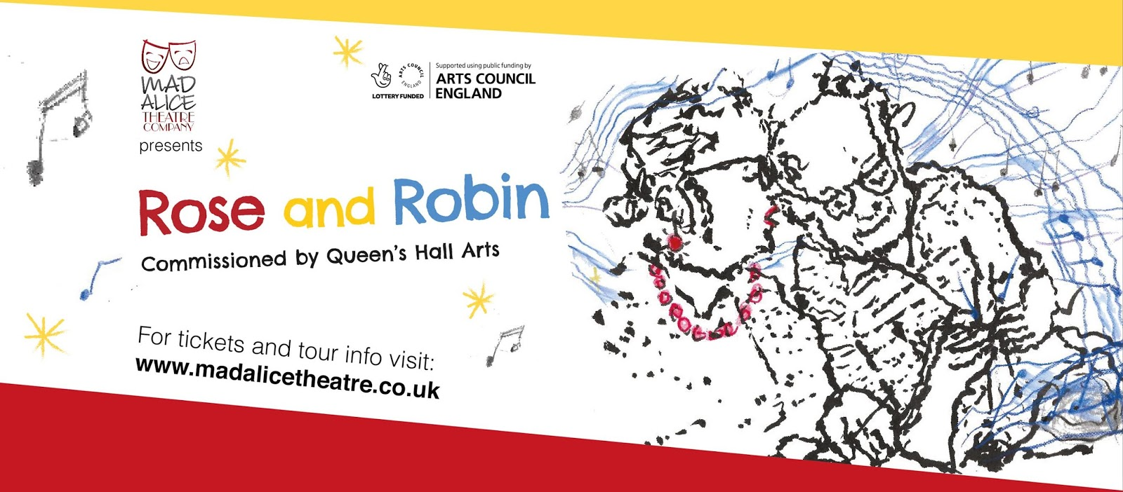 Rose and Robin North East Tour | Accessible Family Theatre from £1.50