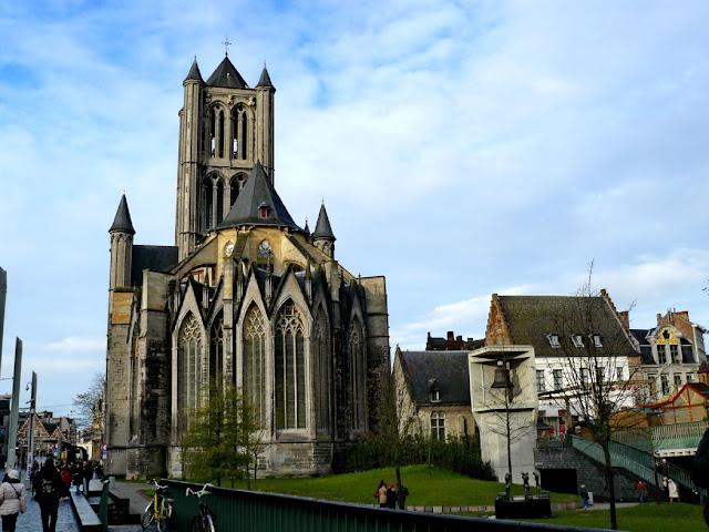 Iglesia de San Nicolas - visitando Gante en un día