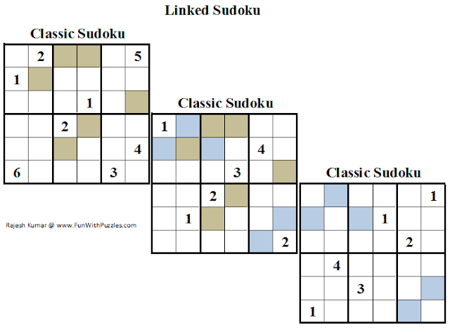 3x6x6 Linked Sudoku (Daily Sudoku League #123)