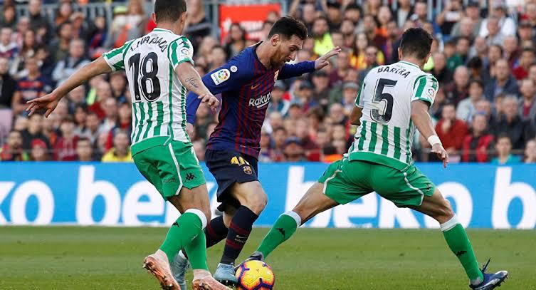 نتيجة مباراة برشلونة وريال بيتيس بتاريخ 25-08-2019 الدوري الاسباني