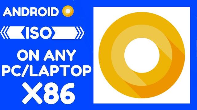 Android x86 Oreo 8.0 iso