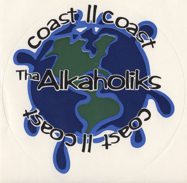 Tha Alkaholiks Original Coast II Coast Sticker