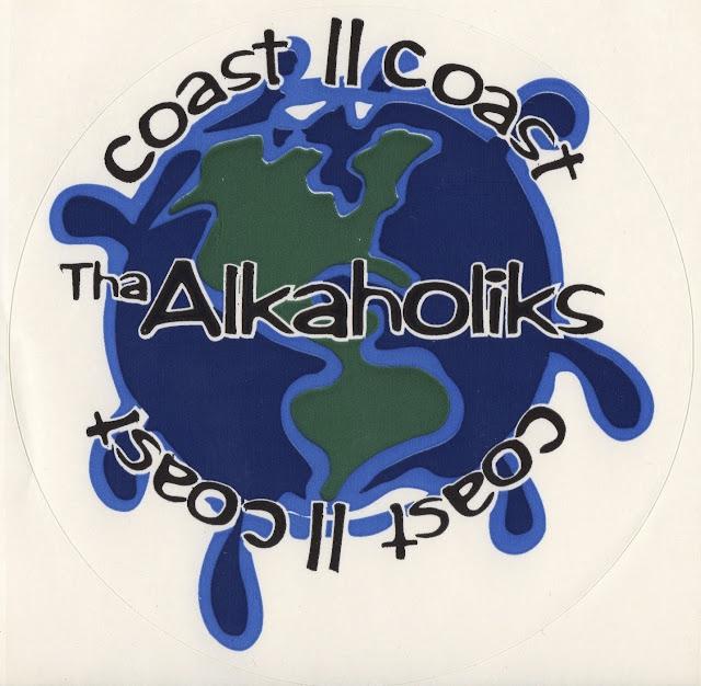 Tha Alkaholiks Original Coast II Coast Sticker