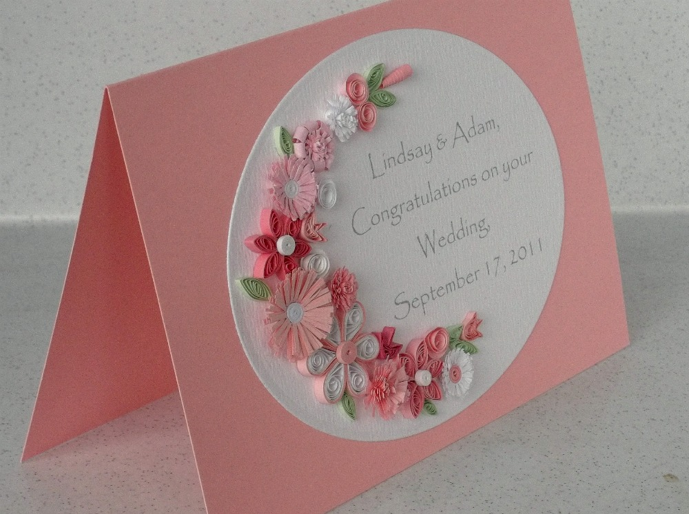 Paper Daisy Cards: Quilled Wedding Cards