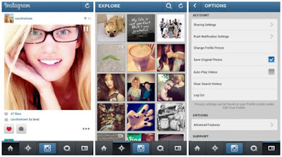 Cara Mudah Menyimpan Foto Instagram